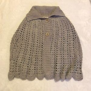 Urban Outfitters Alpaca/Wool Capelet Sweater